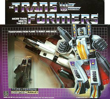 original transformers ramjet seeker jet robot g1 sold